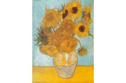 Clementoni 31438 - Museum Collection - Van Gogh - Napraforgók - 1000 db-os puzzle