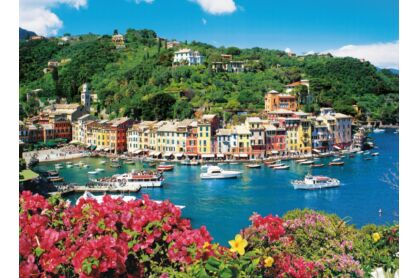 Clementoni 31986 - Portofinoi öböl, Olaszország - 1500 db-os puzzle