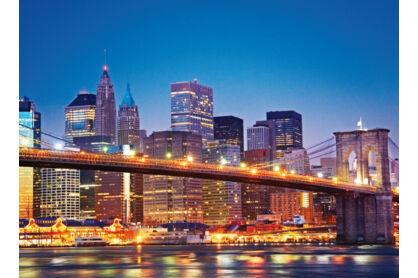 Clementoni 39199 - Brooklyn híd, New York - 1000 db-os puzzle