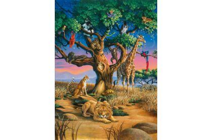 Clementoni 32923 - Afrika vadvilága - 1000 db-os puzzle