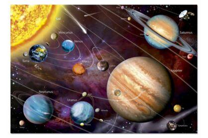 Educa 14461 - Neon puzzle - Naprendszer - 1000 db-os puzzle