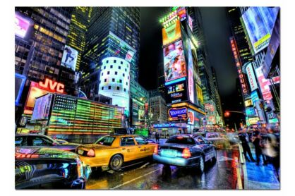 Educa 15525 - HDR - Time Square - New York - 1000 db-os puzzle
