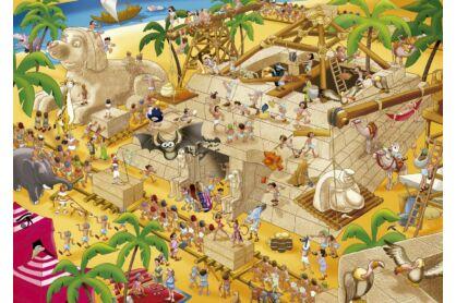Educa 16345 - Történetek a történelemből - Ókori Egyiptom - 1000 db-os puzzle
