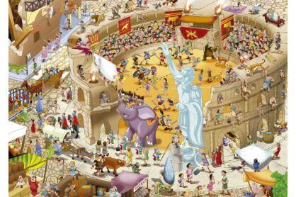 Educa 16344 - Történetek a történelemből - Ókori Róma - 1000 db-os puzzle