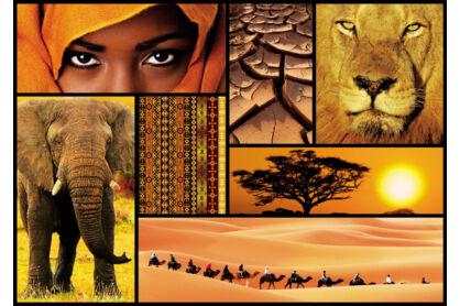 Educa 16293 - Afrika színei - 1000 db-os puzzle