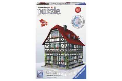 Ravensburger 12572 - Középkori házikó - 216 db-os 3D puzzle