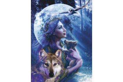 Ravensburger 15414 - A farkasok istennője - 1000 db-os puzzle