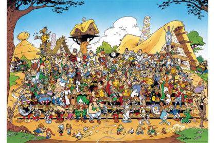 Ravensburger 15434 - Asterix - Családi fotó - 1000 db-os puzzle
