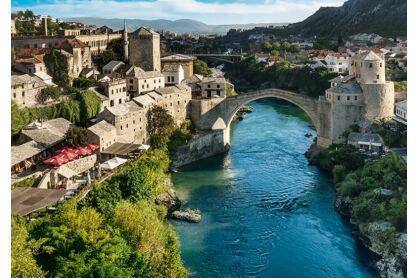 Trefl 10383 - Mostar, Bosznia-Hercegovina - 1000 db-os puzzle
