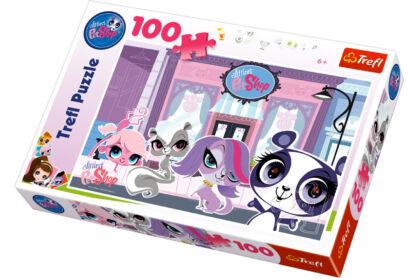 Trefl 16198 - Littlest Pet Shop - 100 db-os puzzle