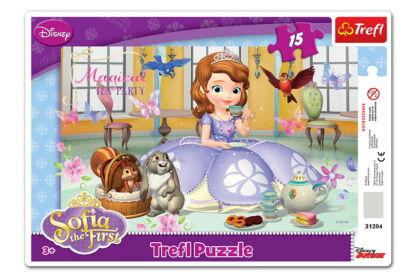Trefl 31204 - Szófia hercegnő - 15 db-os keretes puzzle
