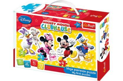Trefl 36060 - Mickey Mouse és barátai - Első Baby puzzle táskában