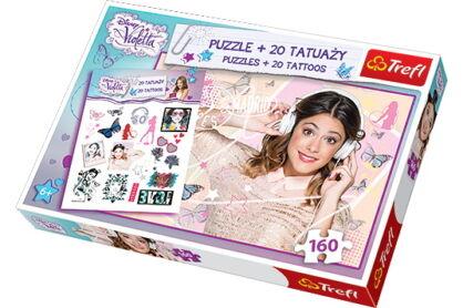 Trefl 90290 - Violetta - 160 db-os puzzle tetoválással