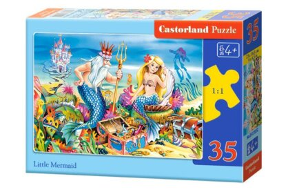Castorland B-035052 - A kis hableány - 35 db-os puzzle