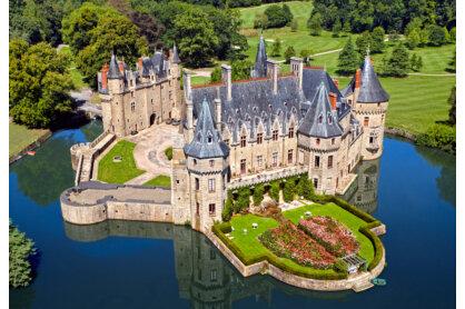 Castorland C-103072 - Kastély a Loire- völgyében - 1000 db-os puzzle