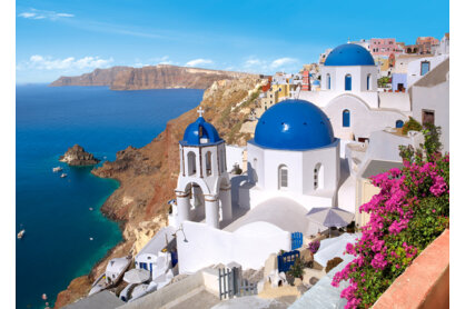 Castorland C-150663 - Santorini, Görögország - 1500 db-os puzzle