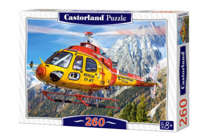 Castorland B-27248 - Mentőhelikopter - 260 db-os puzzle
