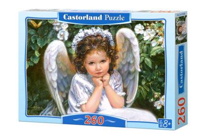 Castorland B-27286 - Angyali portré - 260 db-os puzzle