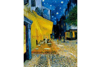 Clementoni 31470 - Museum Collection - Van Gogh - Éjjeli kávézó - 1000 db-os puzzle