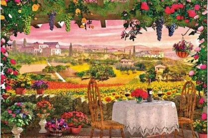 Clementoni 39260 - Romantikus Olaszország - Toszkána 39260 - 1000 db-os puzzle