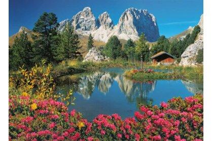Clementoni 39273 - Pordoi-hágó, Olaszország - 1000 db-os puzzle