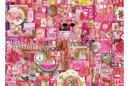 Cobble Hill 80145 - The Rainbow Project - Pink - 1000 db-os puzzle