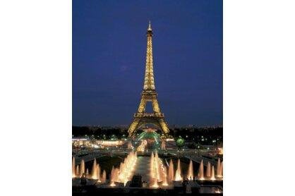 Educa 10114 - Neon puzzle - Eiffel-torony, Párizs - 1000 db-os puzzle