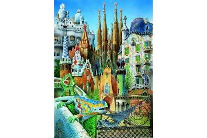 Educa 11874 - Miniature puzzle kollázs - 1000 db-os puzzle