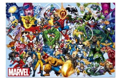 Educa 15193 - Marvel hősök - 1000 db-os puzzle