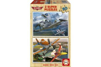 Educa 15564 - Repcsik - 2 x 50 db-os fa puzzle