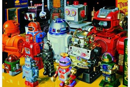 Educa 15979 - Robotok - 1000 db-os puzzle