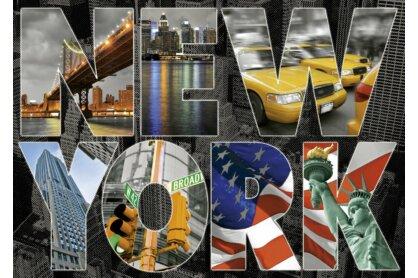 Educa 16288 - New York kollázs - 1000 db-os puzzle
