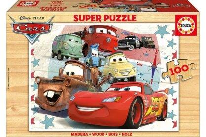 Educa 16800 - Verdák - 100 db-os fa puzzle
