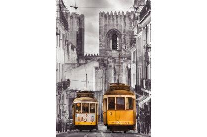 Educa 16311 - Black & White - Alfama negyed, Lisszabon - 1500 db-os puzzle