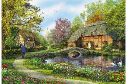 Educa 16356 - Nádfedeles kunyhók - 5000 db-os puzzle