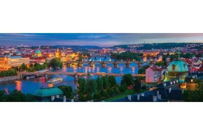 EuroGraphics 6010-5372 - Panoráma puzzle - AirPano - Prague, Czech Republic - 1000 db-os puzzle