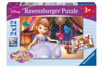 Ravensburger 07570 - Szófia hercegnő - 2 x 12 db-os puzzle
