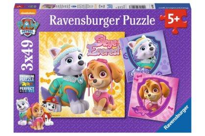 Ravensburger 08008 - Mancs őrjárat - Skye és Everest - 3 x 49 db-os puzzle