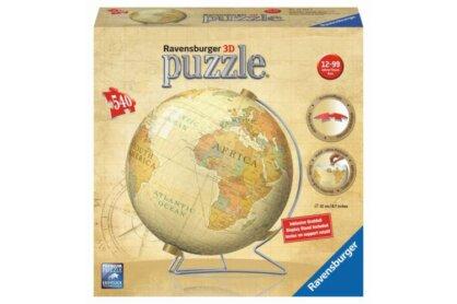 Ravensburger 12434 - Földgömb - 540 db-os 3D puzzle
