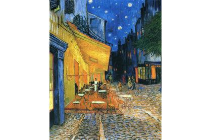 Ravensburger 15373 - Art puzzle - Van Gogh - Éjjeli kávézó - 1000 db-os puzzle