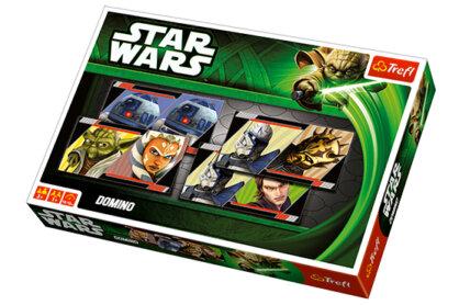 Trefl 00925 - Star Wars - Klónok háborúja dominó