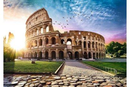 Trefl 10468 - Napsütötte Colosseum, Róma - 1000 db-os puzzle