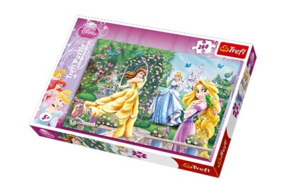 Trefl 13141 - Disney Princess - 260 db-os puzzle