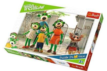 Trefl 14247 - A Treflikow család kalandjai - 24 db-os Maxi puzzle