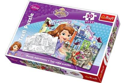 Trefl 14420 - Szófia hercegnő - 30 db-os Színezhető Maxi puzzle