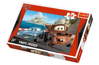 Trefl 15196 - Verdák - Matuka és Finn - 160 db-os puzzle