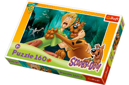 Trefl 15235 - Scooby-Doo - Fuss az életedért, ha tudsz! - 160 db-os puzzle