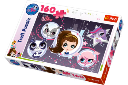 Trefl 15236 - Littlest Pet Shop - 160 db-os puzzle
