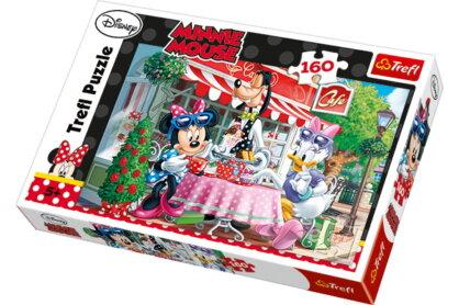 Trefl 15298 - Minnie Mouse - A kávézóban - 160 db-os puzzle