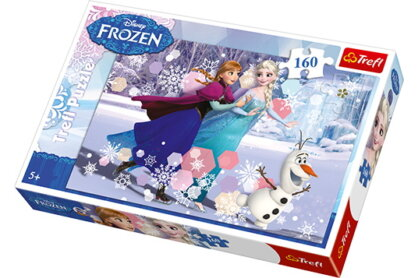 Trefl 15317 - Jégvarázs - Korcsolyázás - 160 db-os puzzle